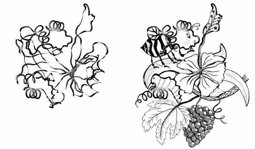 Cyanobacteria-Bee illustration