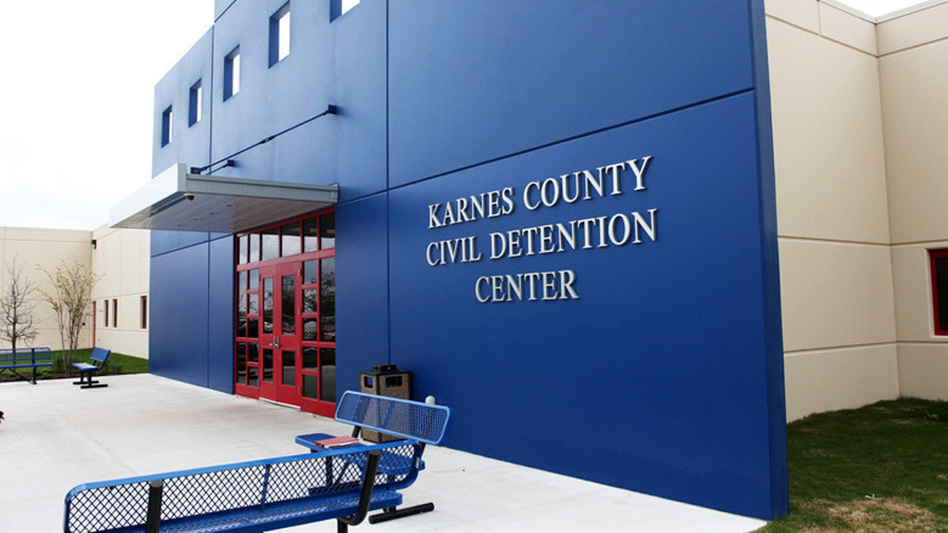 Karnes County Detention Center in Karnes City, Texas. (ICE)