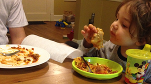 Dinner is hard. We want to know what's on your family's table, and why. Share yours at NPR's Dinnertime Confessional.