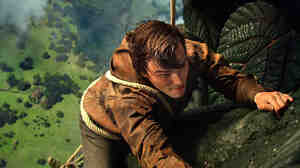 Nicholas Hoult plays the young Jack, who must wage battle against an ancient race of giants in Jack the Giant Slayer.