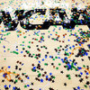 Confetti is seen on the NCAA logo after the Kentucky Wildcats defeat the Kansas Jayhawks 67-59 in the championship game of the 2012 NCAA Division I Men's Basketball Tournament at the Mercedes-Benz Superdome on April 2, 2012, in New Orleans.