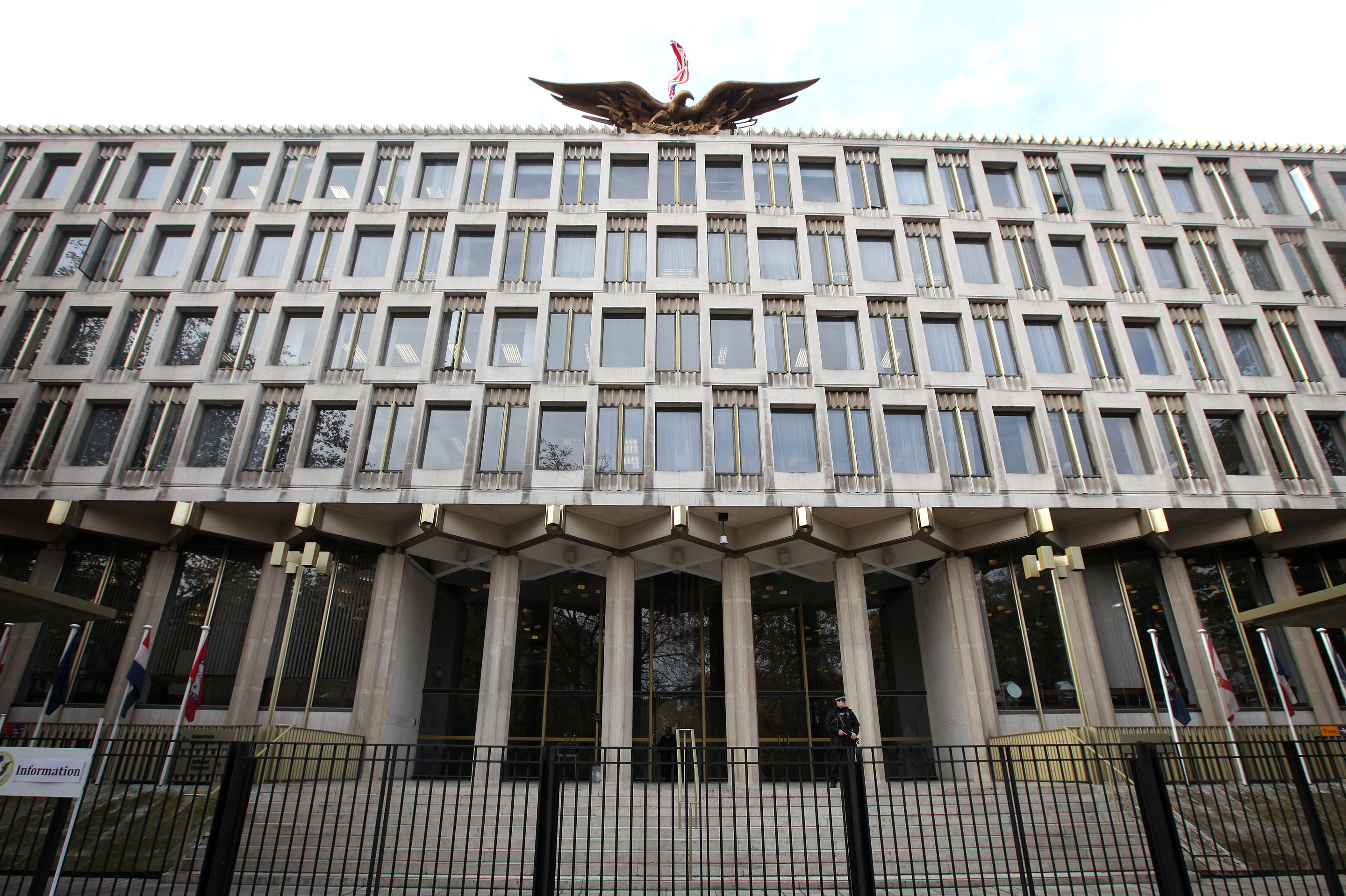 Can U S  Embassies Be Safe Without Being Unsightly?   NCPR News