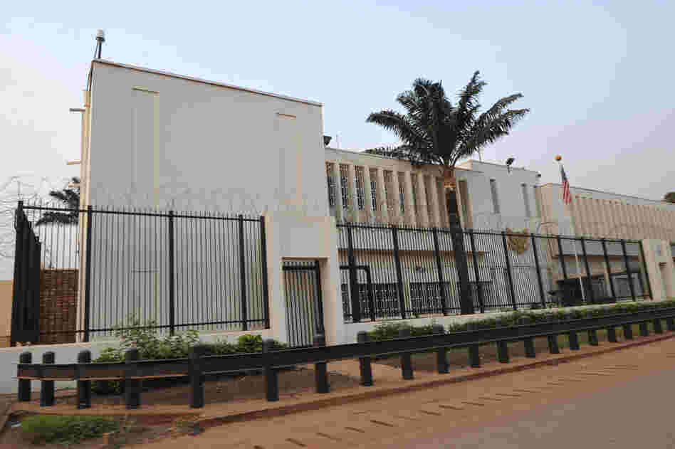 The U.S. Embassy in Bangui, the capital of the Central African Republic, was evacuated on Dec. 28, 2012, because of security concerns as the CAR government continues to combat rebels.