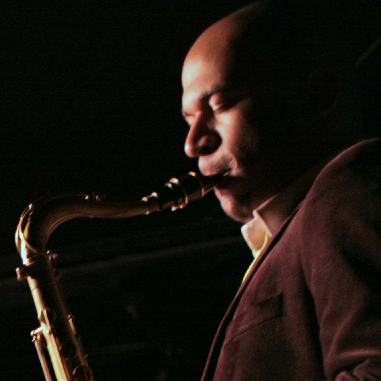 Walter Smith III performs at the Village Vanguard in New York.
