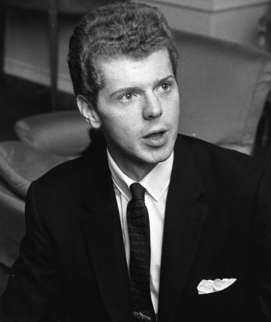 U.S. pianist Van Cliburn in 1963.