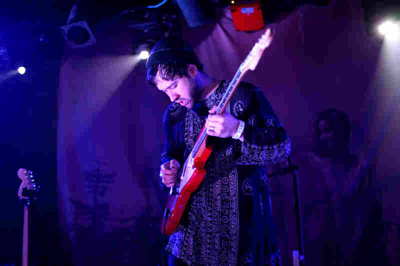 Unknown Mortal Orchestra performs live at the Rock and Roll Hotel in Washington, D.C.