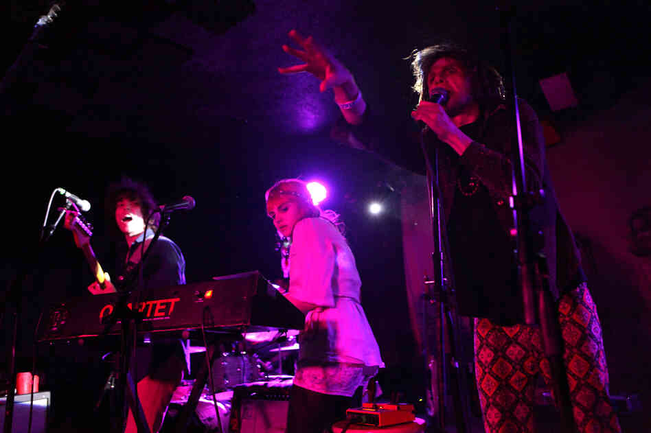Foxygen performs live at the Rock and Roll Hotel in Washington, D.C.