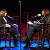Host Ophira Eisenberg sits down for a chat with this week's Ask Me Another VIP, Keli Goff, on stage at The Bell House in Brooklyn, NY.