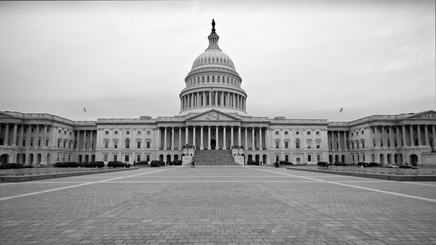 The U.S. Capitol is seen Tuesday, three days before the government sequester is scheduled to begin. It would require $85 billion in across-the-board government spending cuts over the next seven months, but would not target specific programs. (AP)