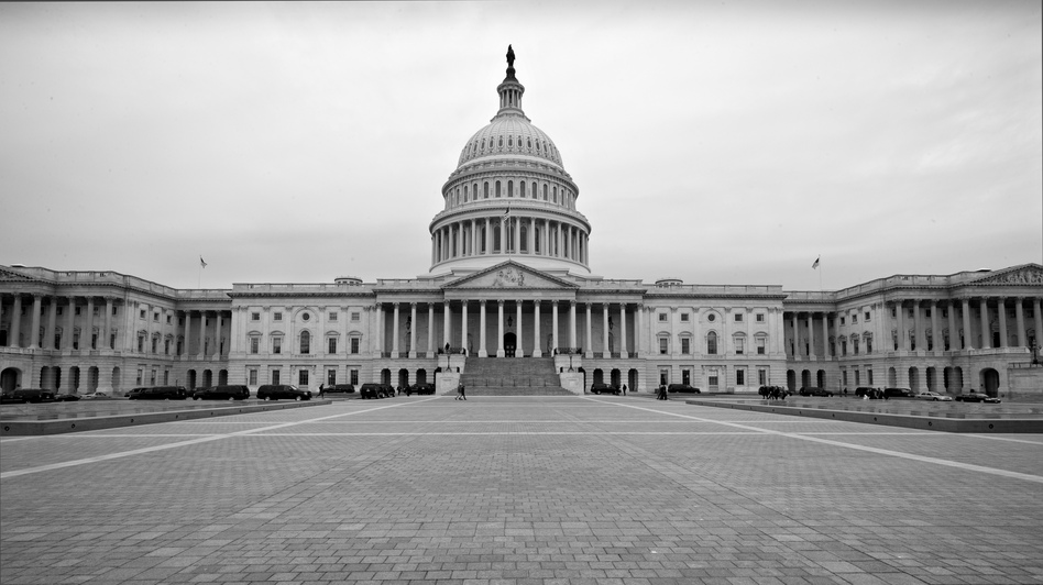 The U.S. Capitol is seen Tuesday, three days before the government sequester is scheduled to begin. It would require $85 billion in across-the-board government spending cuts over the next seven months, but would not target specific programs.