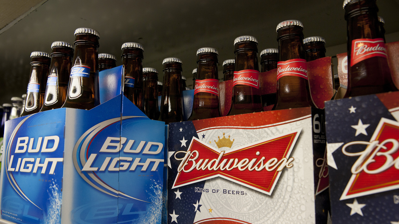 Budweiser may seem watery but it tests at full strength lab says the salt npr - Budweiser beer pictures ...