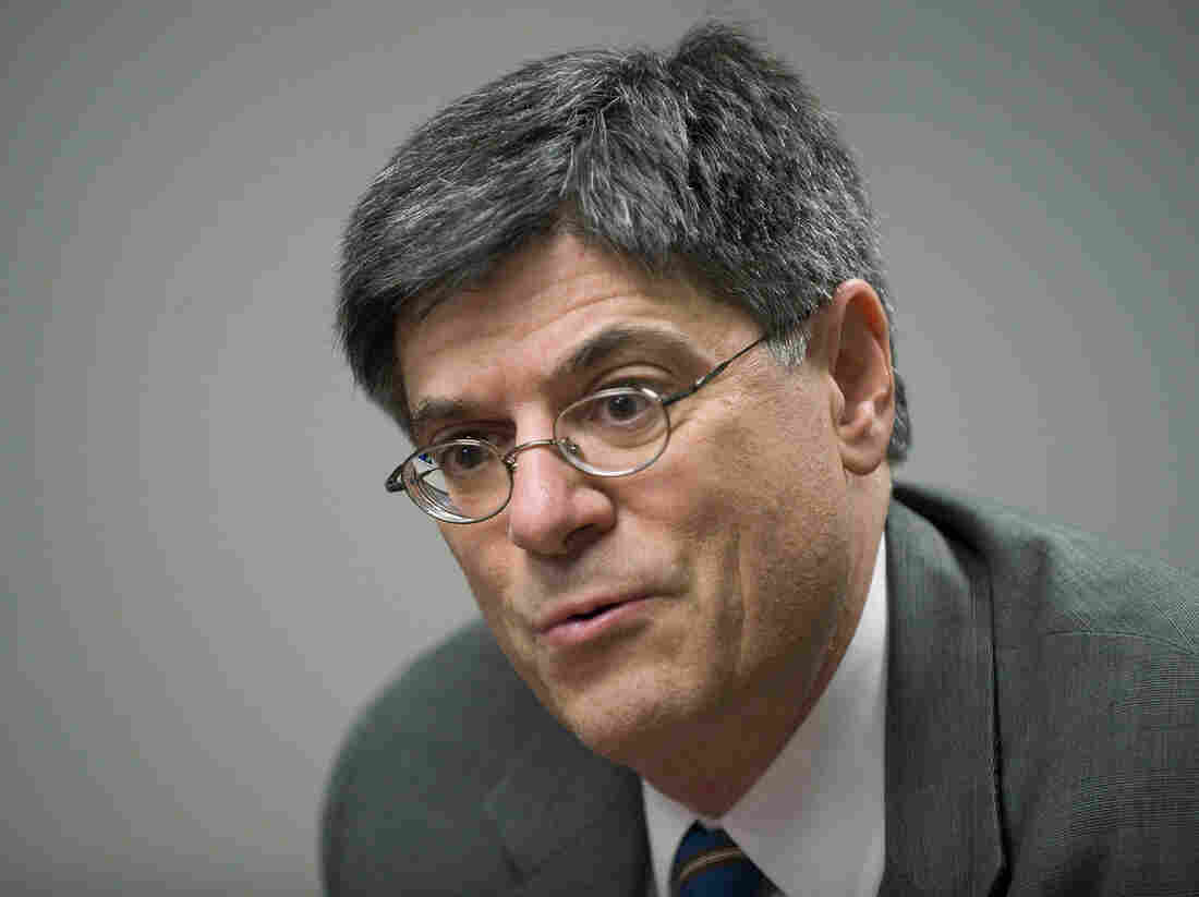 Jack Lew, current White House chief of staff. He's likely to be the nominee for treasury secretary.