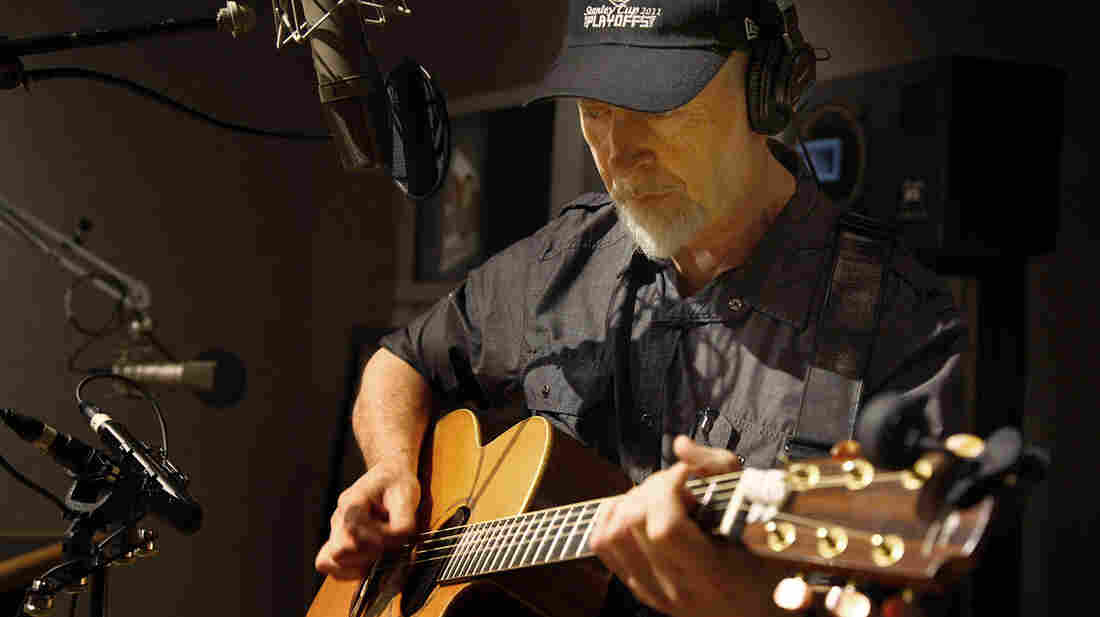 Richard Thompson performs live at the All Things Considered studio.