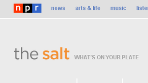 The Salt blog at NPR.org.