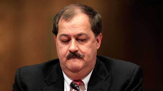 Former Chairman and CEO of Massey Energy Don Blankenship in 2010. (Getty Images)