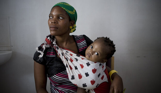 By taking antiretroviral drugs during pregnancy, this Tanzanian mother lowered the risk of passing HIV to her daughter.