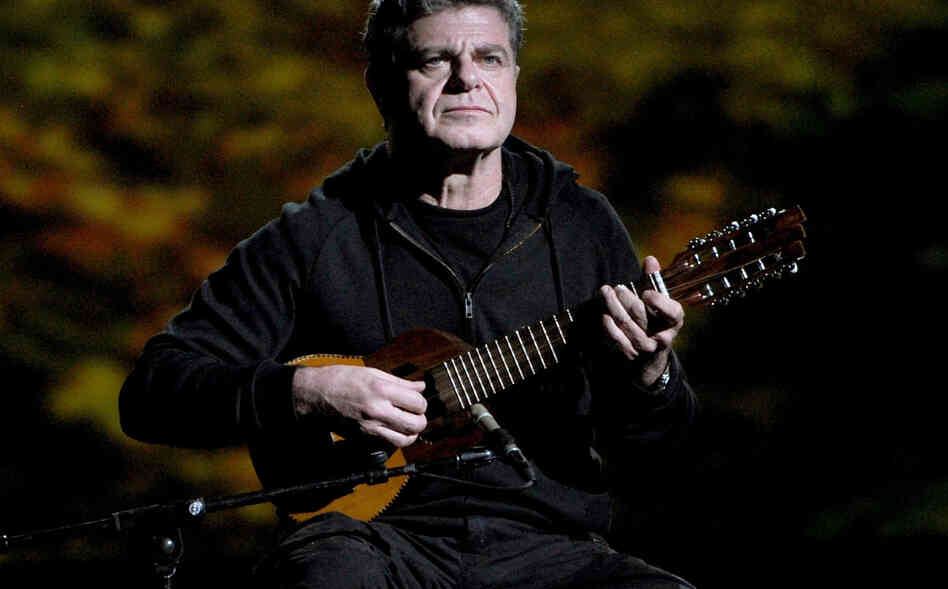 Argentine musician Gustavo Santaolalla has won two Academy Awards for Best Original Score for the films Brokeback Mountain and