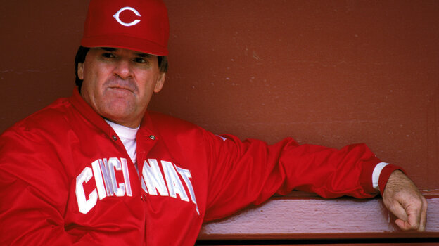Pete Rose holds the record for all-time hits, but he was banned from base