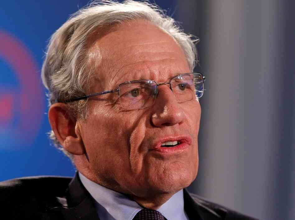 Bob Woodward speaks during an event to commemorate the 40th anniversary of Watergate in Washington in June.
