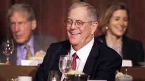 David Koch, executive vice president of Koch Industries, attends an event at The Economic Club of New York last year.
