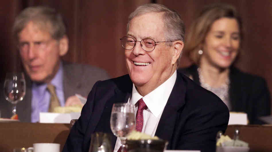 David Koch, executive vice president of Koch Indus