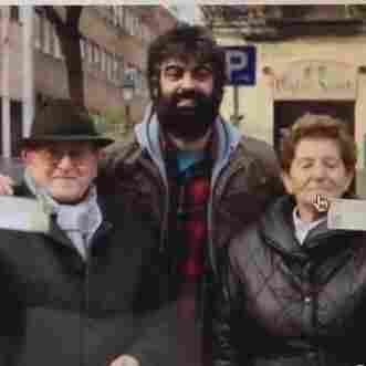 A Spanish man bought two theater tickets and gave them to an elderly couple after he received free cash from an ATM set up by Coca-Cola.