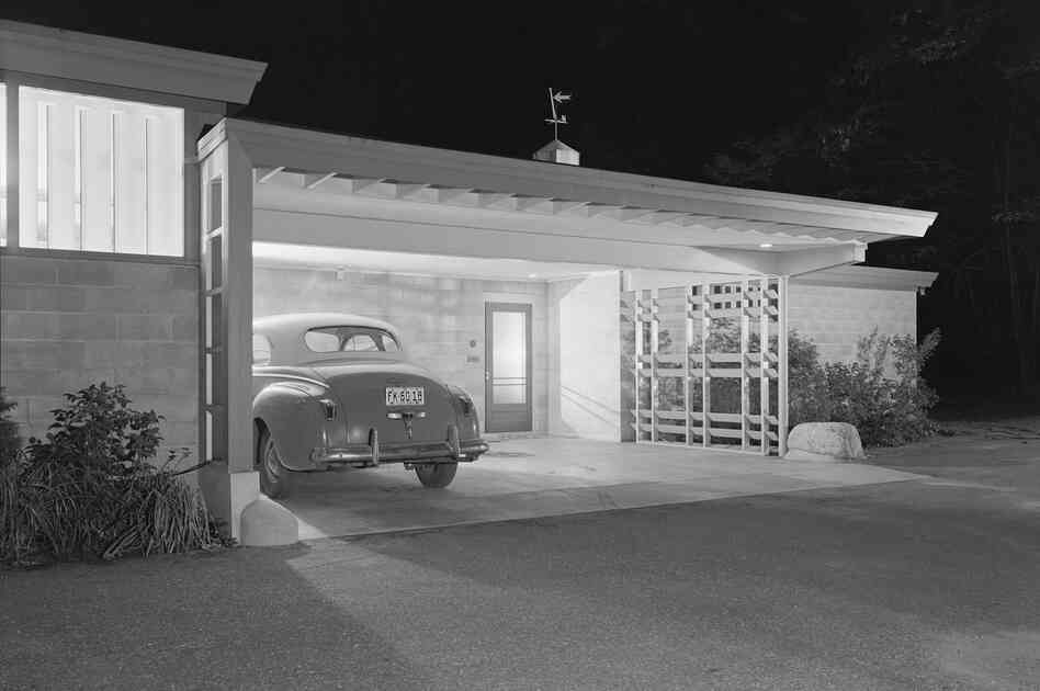 Brenner House, Harry Weese, Champaign, Ill., 1952