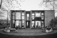 <em>Burnap Post House, Esherick House, Louis Kahn, Philadelphia, Pa.,</em> 1966