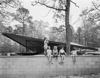 <em>Catalano House, Eduardo Catalano, Raleigh, N.C.,</em> 1955