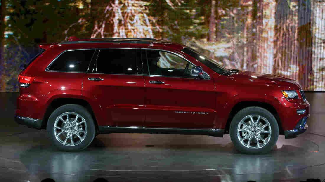 Chrysler's 2014 Jeep Grand Cherokee.