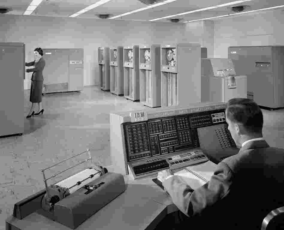 IBM 702 Machine, 1955