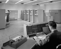 <em>IBM 702 Machine,</em> 1955