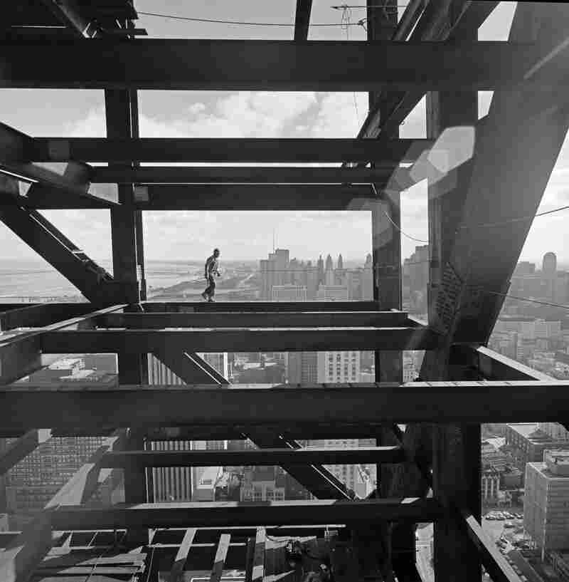 John Hancock Chicago construction, Skidmore, Owings & Merrill, Chicago, Ill., 1970