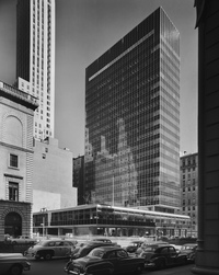 <em>Lever House, Skidmore, Owings & Merrill, New York, N.Y.,</em> 1952