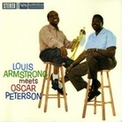 cover to Louis Armstrong Meets Oscar Peterson