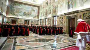 Pope Benedict Leaves A Church Mired In Crises
