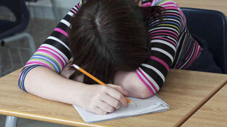 Napping in class may be common, but it's also a sign that kids need more sleep.