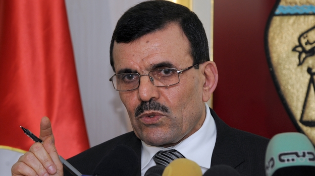 Tunisia's Prime Minister-designate, Ali Larayedh, speaks during a Feb. 26 press conference. His priorities will include forming a stable government and overseeing the writing of a new constitution. (AFP/Getty Images)