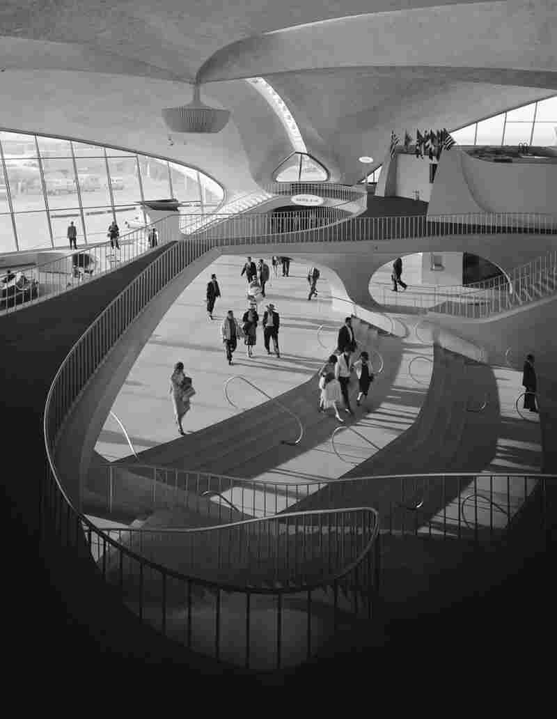 TWA Terminal at Idlewild (now JFK) Airport, Eero Saarinen, New York, N.Y., 1962
