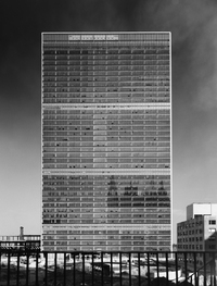 <em>United Nations, International Team of Architects Led by Wallace K. Harrison, New York, N.Y., </em>1952