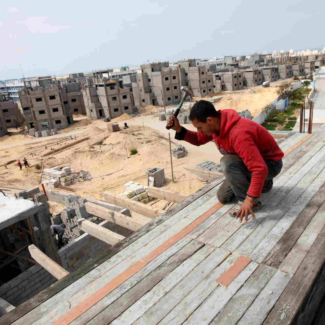 Palestinians Still Feel The Squeeze Of The Restrictions On Gaza