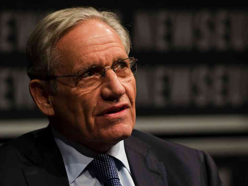 Washington Post associate editor Bob Woodward speaks at the Newseum in Washington, D.C., in June.