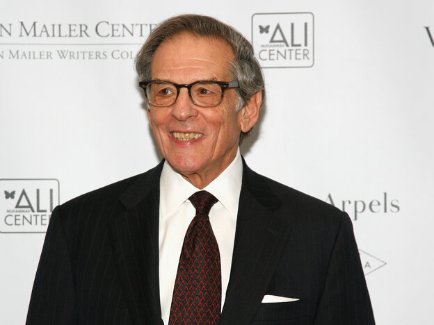 Robert Caro, who won the National Book Critics Circle Award in biography, at a gala at the Norman Mailer Center in New York.