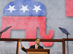 Republican National Committee Chairman Reince Priebus, shown here in August at the Republican National Convention, has named a five-member task force to conduct a review of what went wrong for his party in the November el