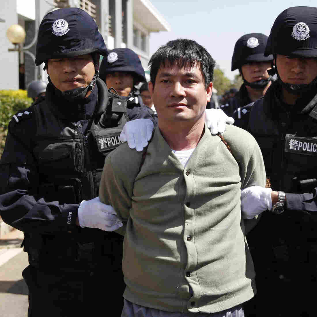 China's Broadcast Of Drug Lord's Final Hours Sparks Controversy