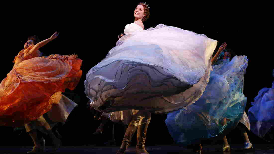 Laura Osnes appears in the title role of a new Broadway production of Rodgers and Hammerstein's Cinderella. Though her career began unconventionally, she's already had considerably conventional success.