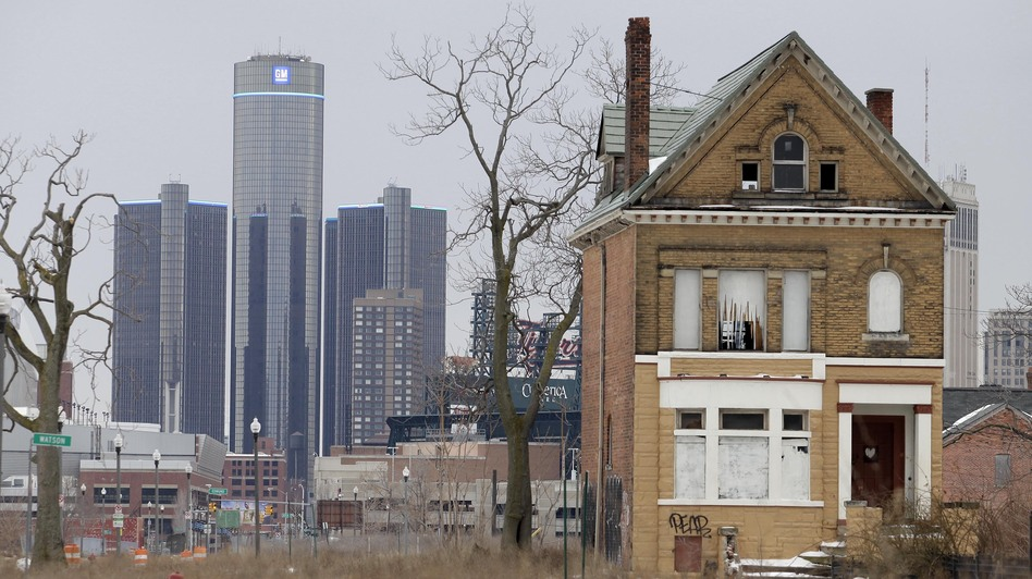 With a declining population and dwindling tax base, Detroit has grappled with severe financial problems in the past decade. (Getty Images)