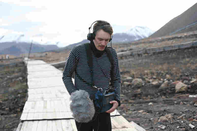 "Efterklang's singer, Casper Clausen, records the sound of his footsteps on a long boardwalk running out of town. The sound can be heard in the opening of the song ""Dreams Today."""