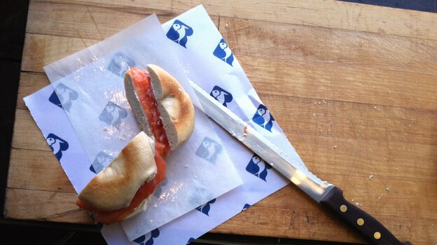Russ and Daughters, which opened on the Lower East Side in 1914, specializes in smoked fish.
