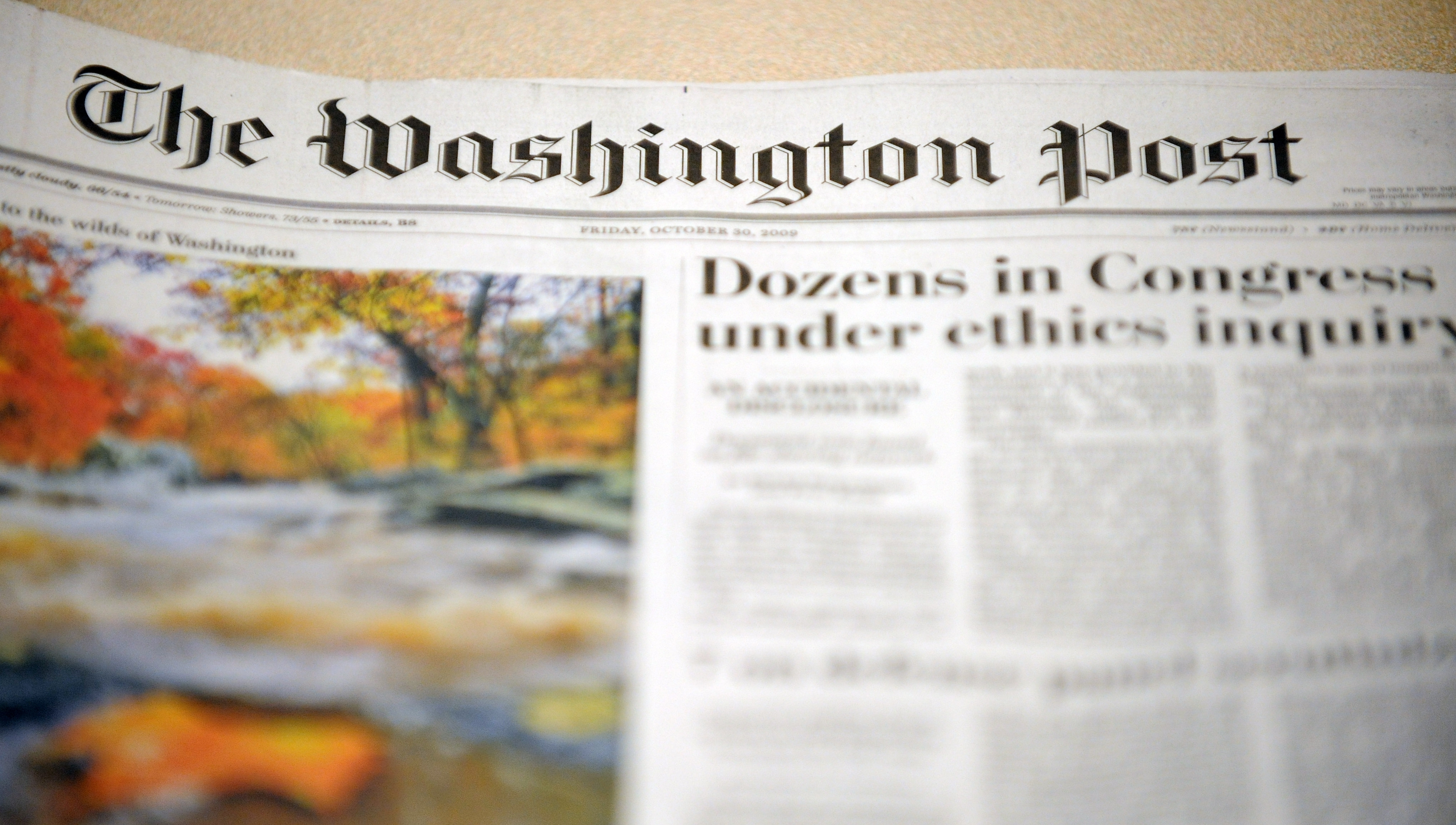 Fear And Trust At 'The Washington Post' : NPR